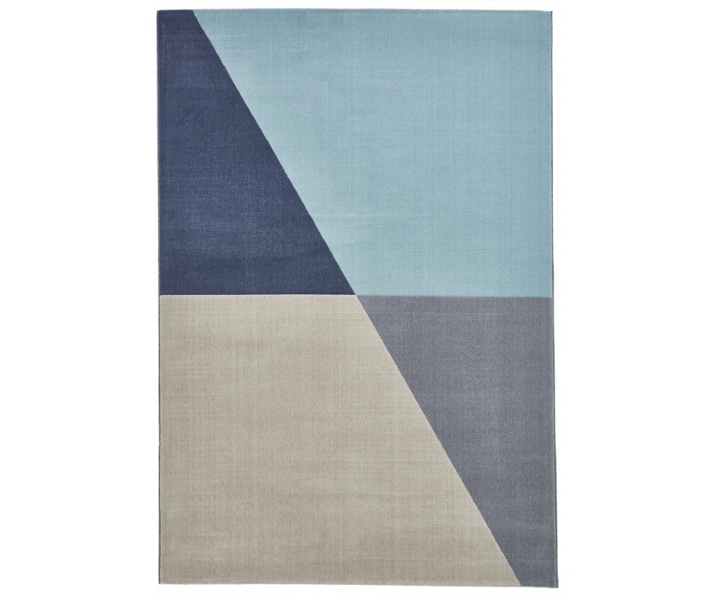 Covor Vancouver 200x290 cm - Think Rugs, Gri & Argintiu imagine