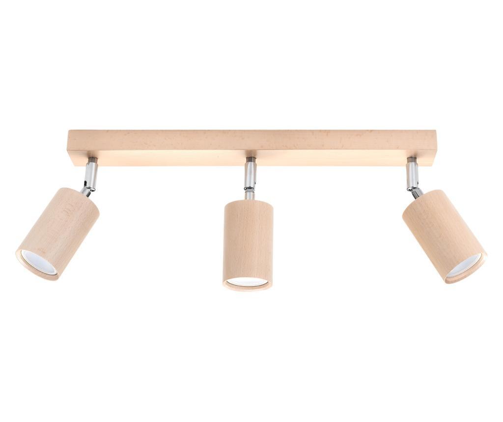 Lustra Ludwik 3 Wood - Nice Lamps, Crem