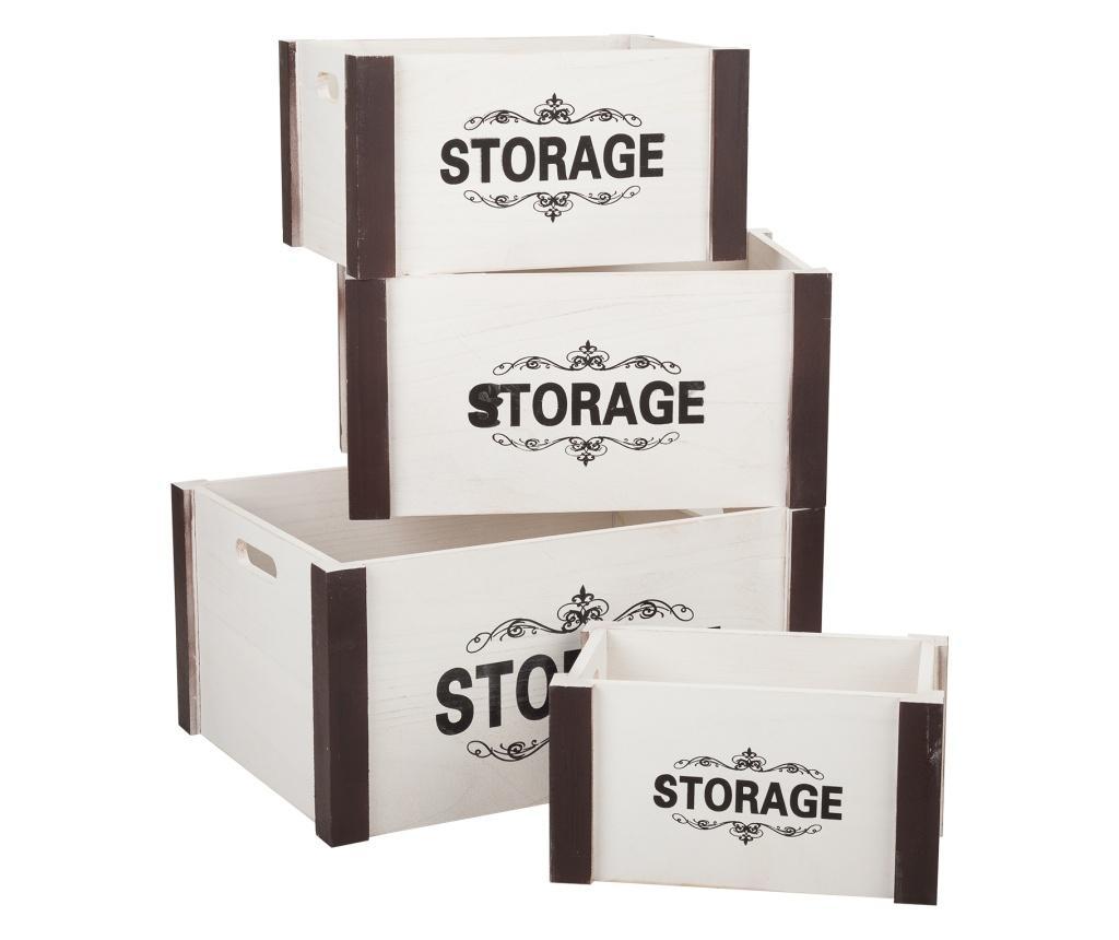 Set 4 cutii