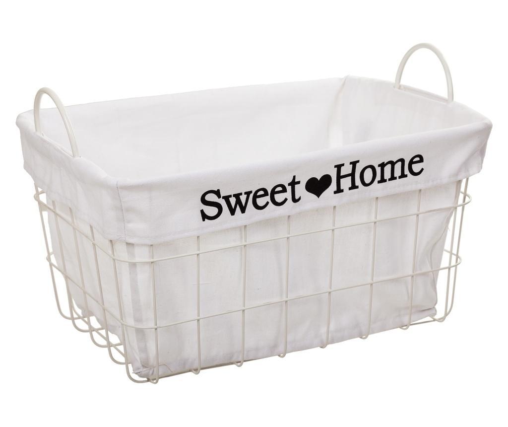 Cos Sweet Home - Creaciones Meng, Alb imagine