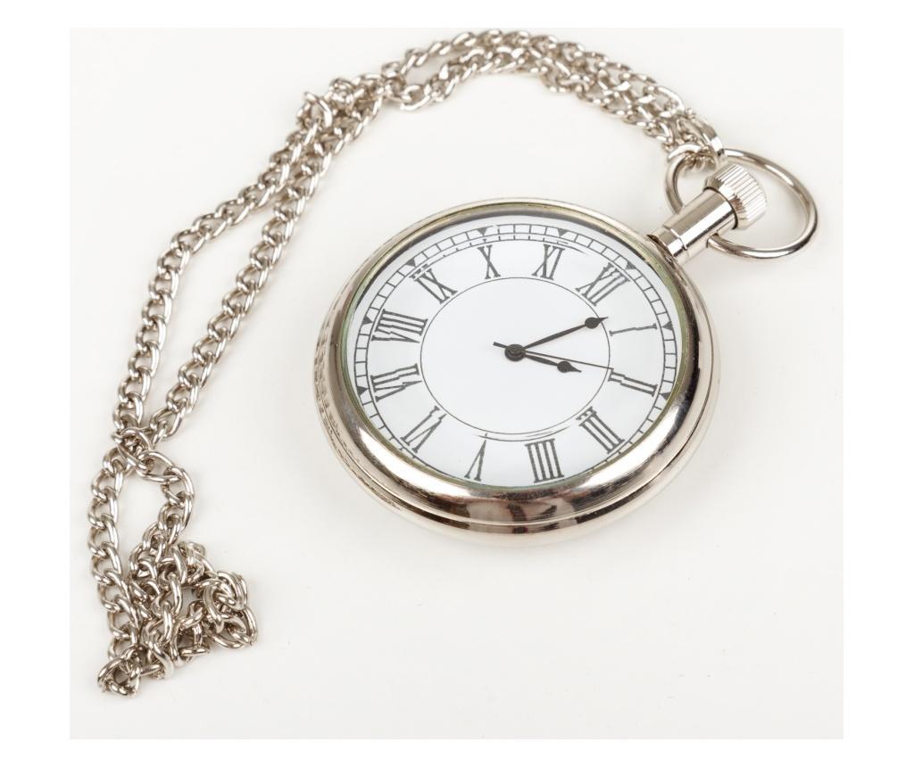 Ceas de buzunar - Creaciones Meng, Gri & Argintiu