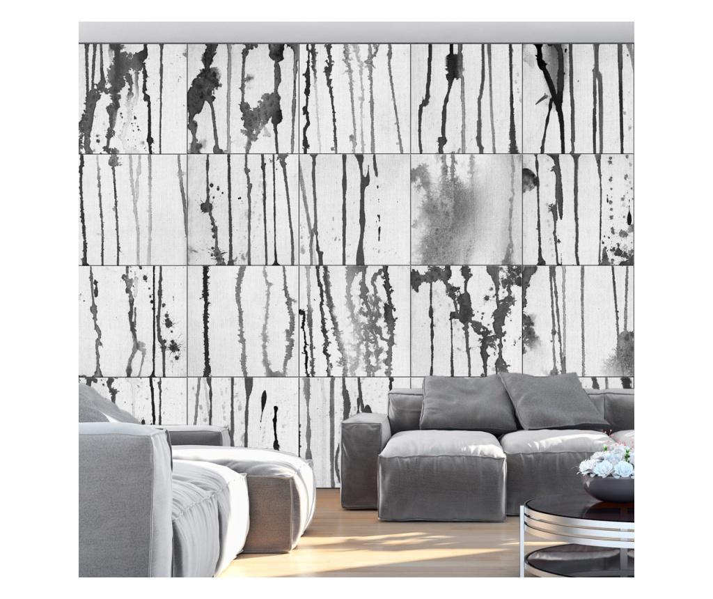 Tapet Grey Torrents 1000x50 cm