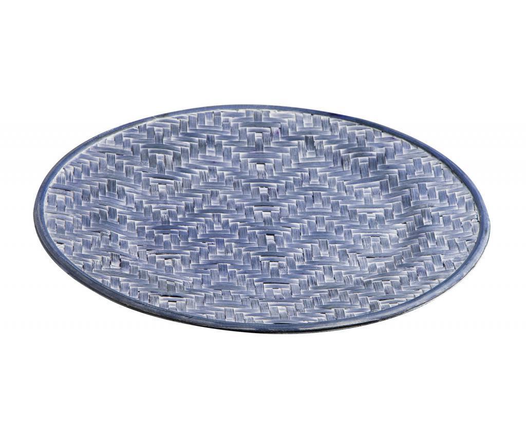 Suport farfurie 33x33 cm - Novita Home, Albastru imagine