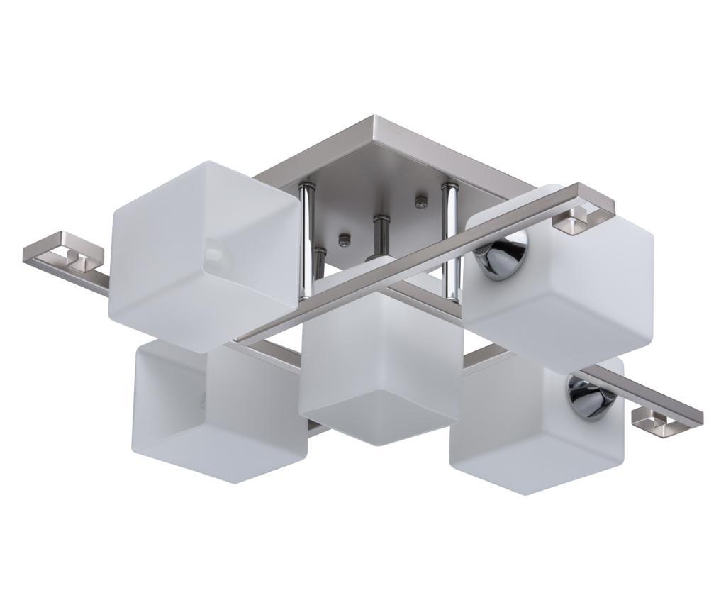 Lustra Alpha - DeMarkt, Alb,Gri & Argintiu imagine