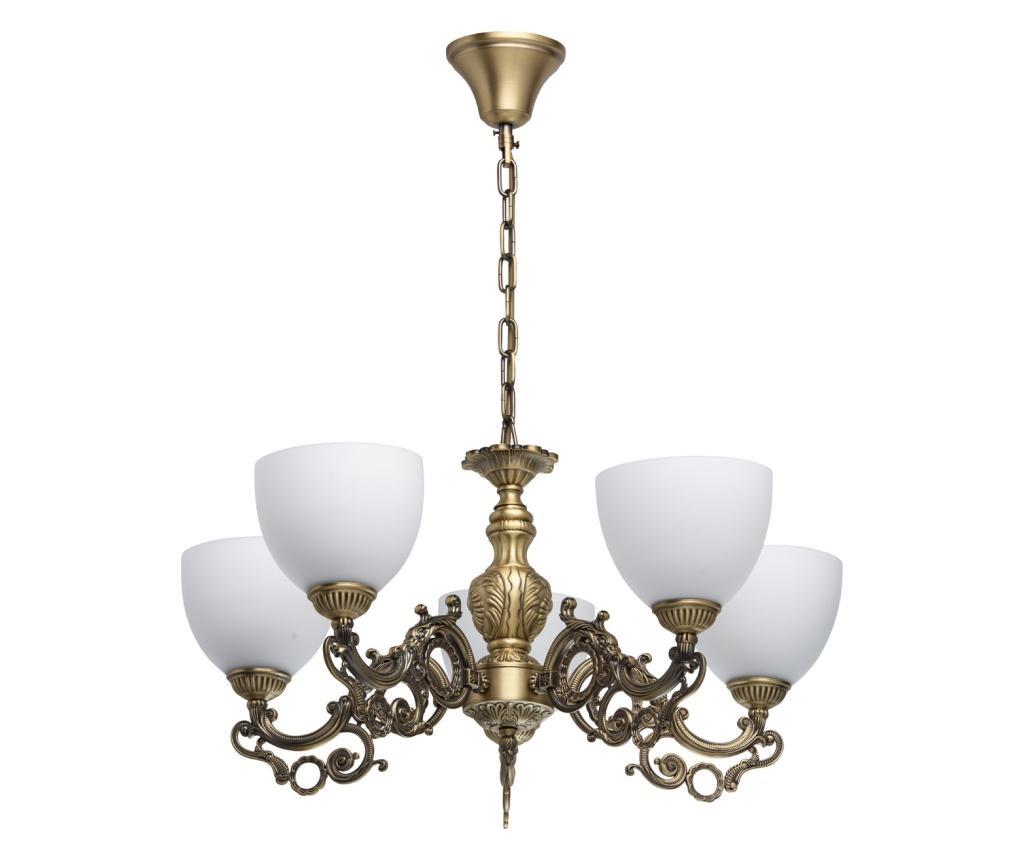 Candelabru Ariadna - Classic Lighting, Alb,Maro imagine