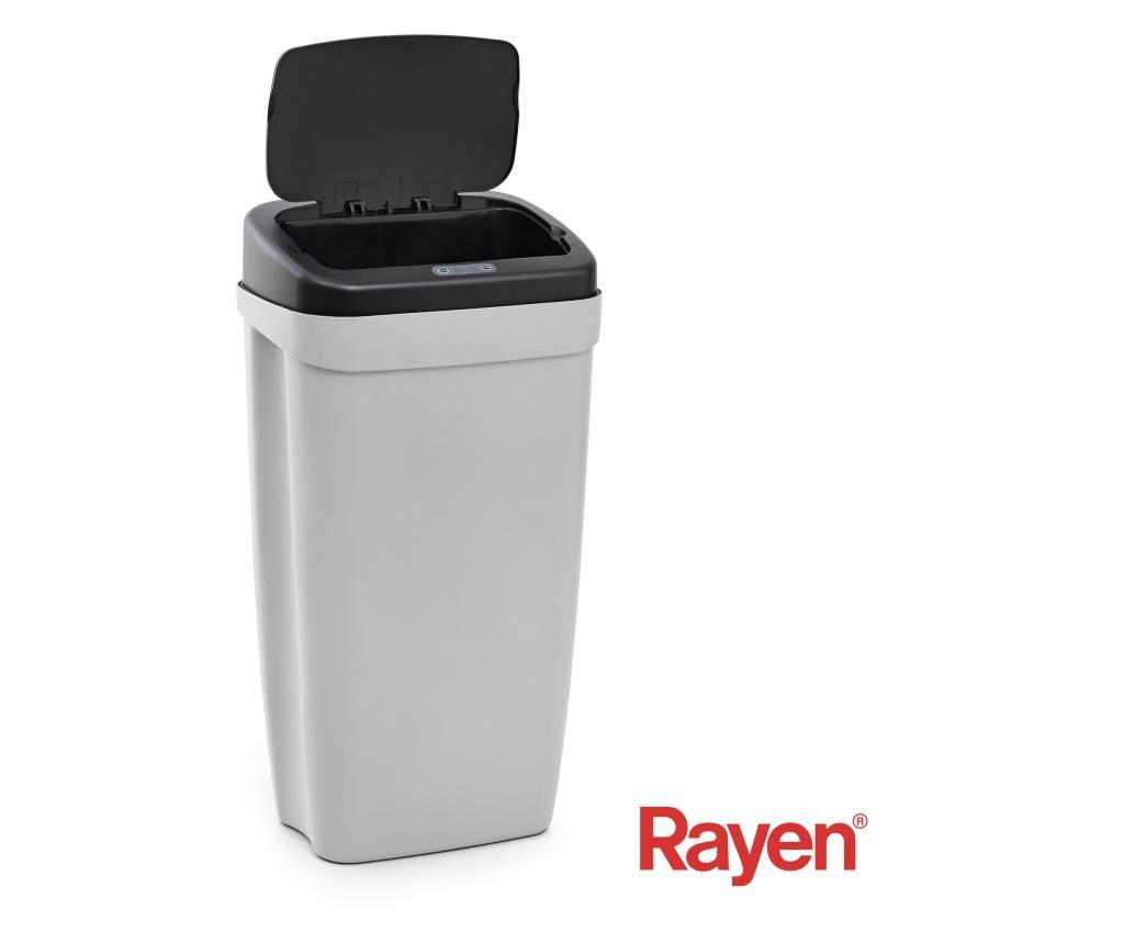 Cos de gunoi cu senzor pentru deschidere - Rayen, Gri & Argintiu imagine