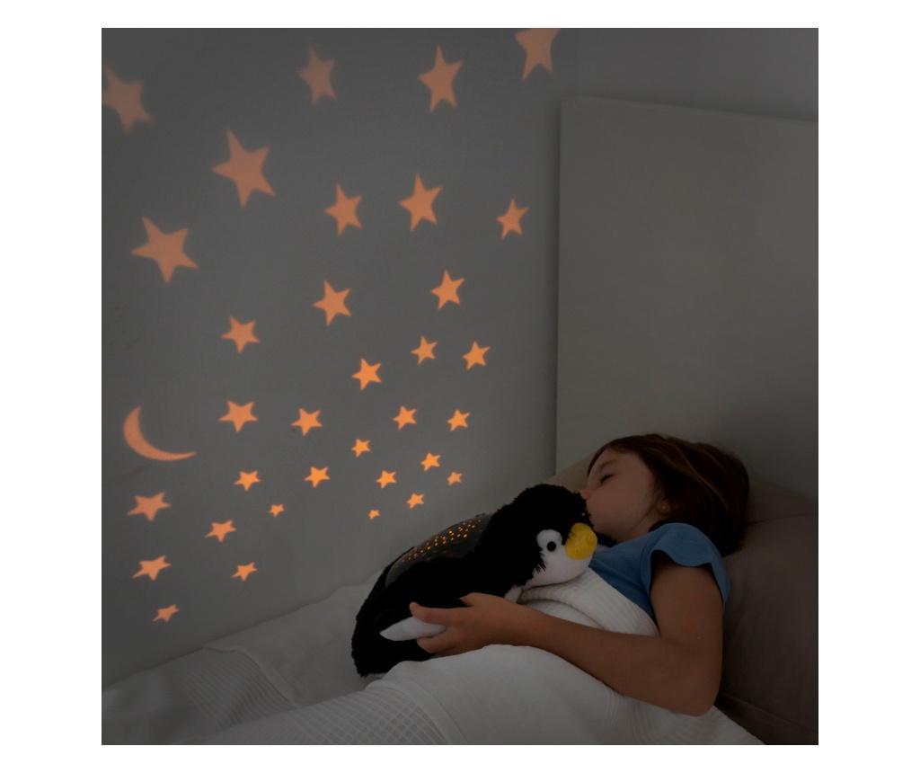 Lampa de veghe cu proiector Cuddly Penguin - InnovaGoods
