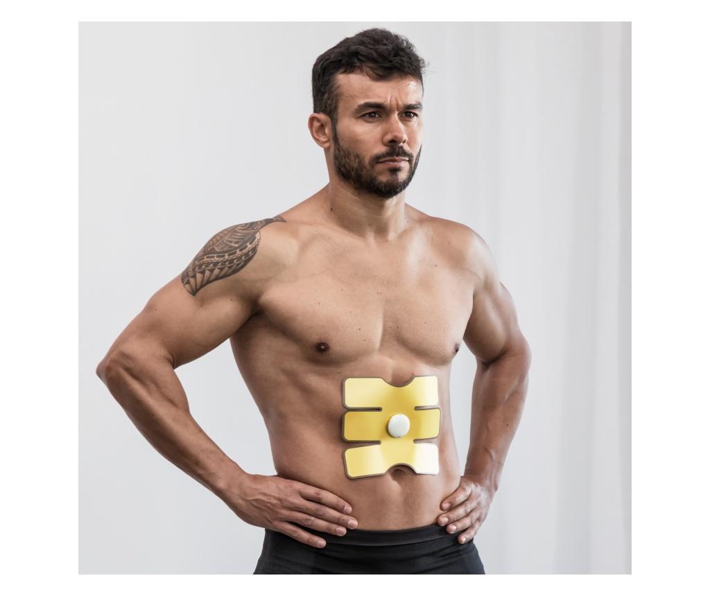 Plasture electric de stimulare a muschilor abdominali - InnovaGoods poza