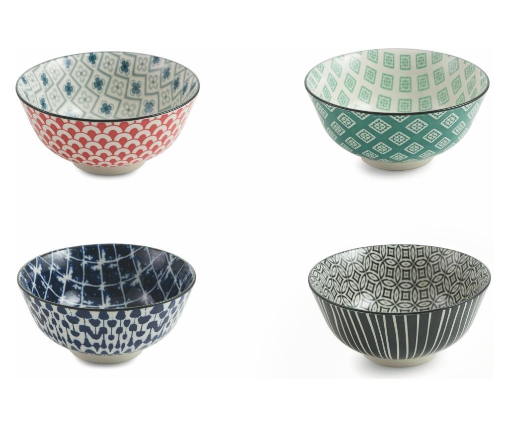 Set 4 cupe pentru desert Oriental imagine