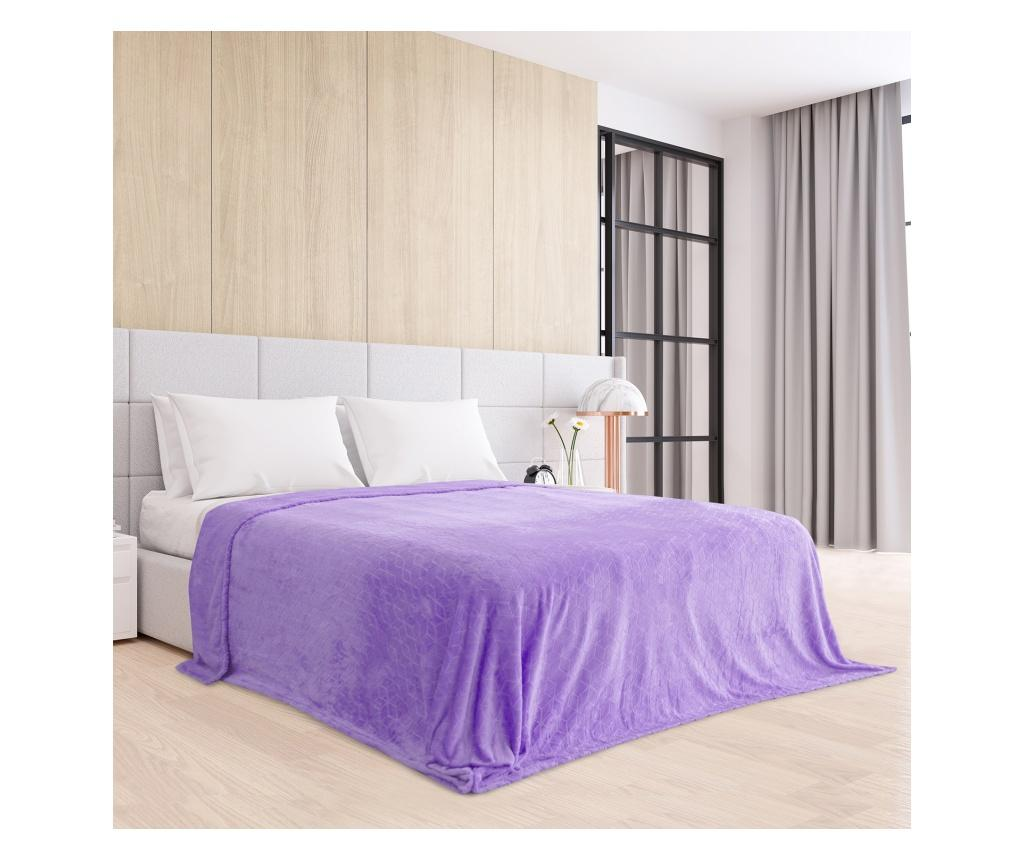 Patura Nessa Lilac 220x240 cm - AmeliaHome, Mov imagine