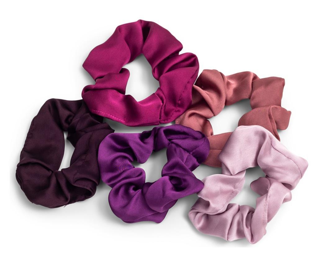 5 elastice de par Multicolored - Zoe Ayla, Multicolor