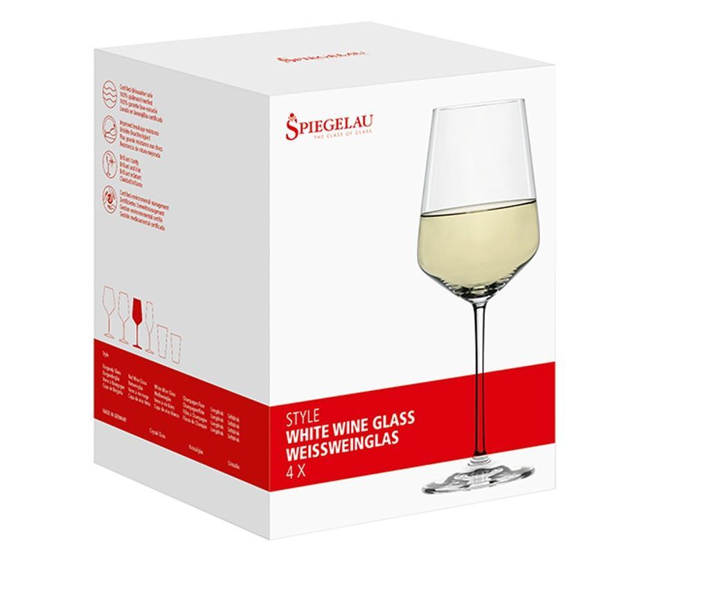 Set 4 pahare pentru vin White Spiegelau 440 ml imagine