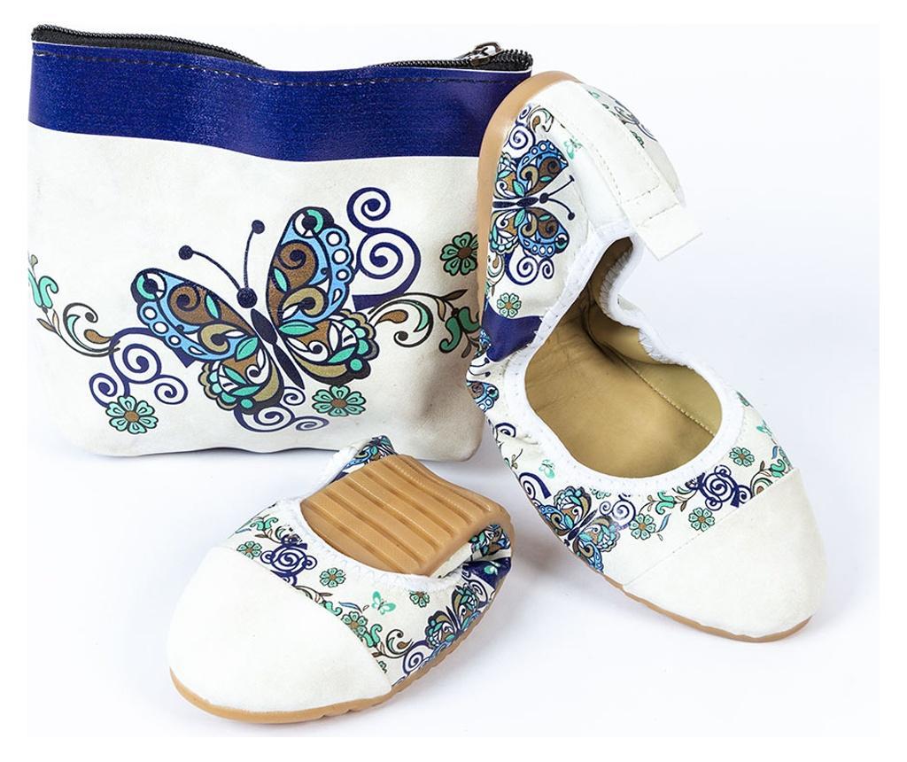 Balerini pliabili cu geanta Foldy Multicolor 40
