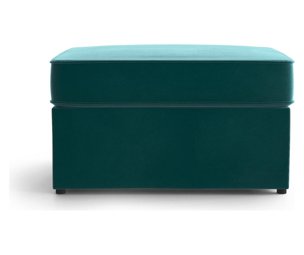 Bancheta extensibila Brady 80 Uni Blue - My Pop Design, Albastru imagine