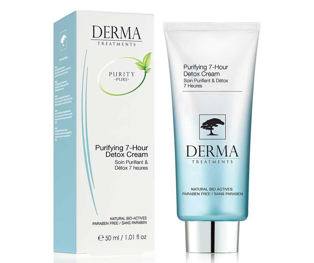 Tratament purificator de noapte Derma 50 ml