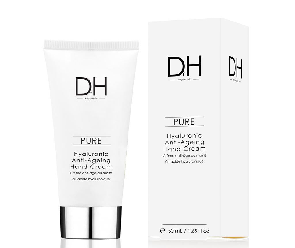 Crema de maini anti-imbatranire cu acid hialuronic Dr H 50 ml imagine