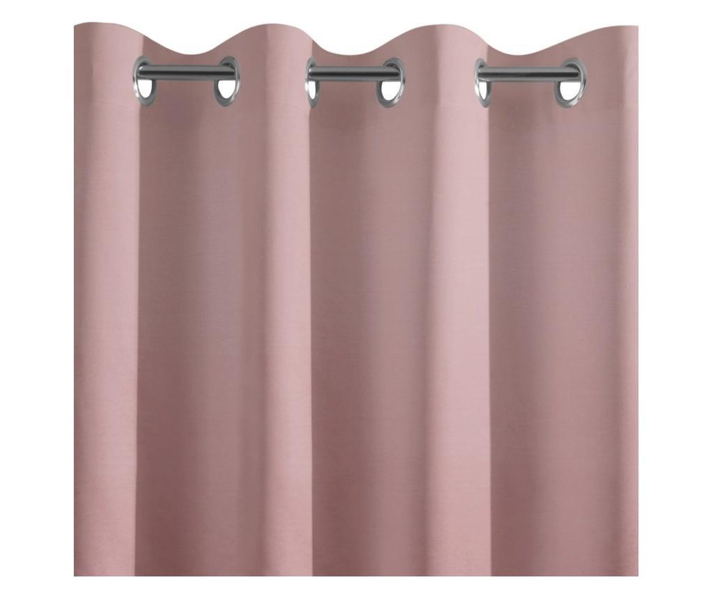 Draperie Ada Pink Rings 135x250 cm
