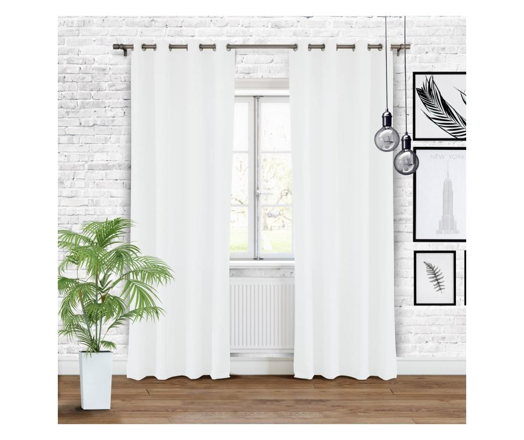 Draperie Hold White 140x250 cm imagine