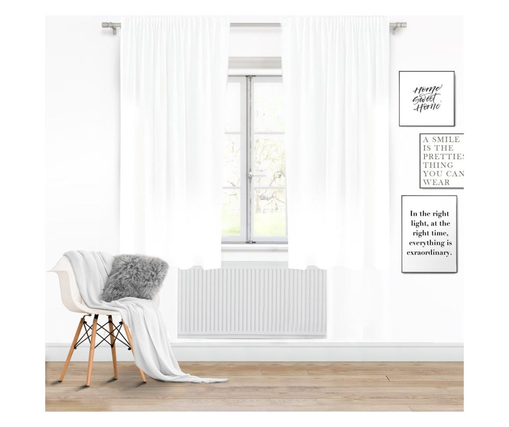 Draperie Viva Tape White 140x250 cm imagine