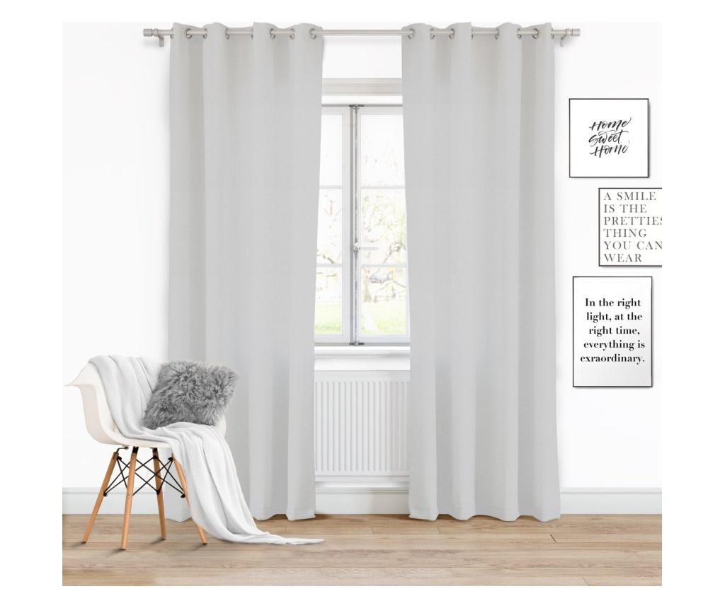 Draperie Viva Light Grey 140x250 cm imagine