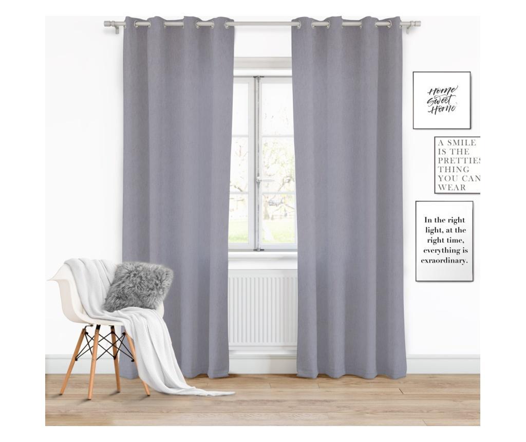 Draperie Viva Grey 140x250 cm imagine