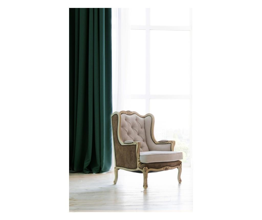Draperie Pierre Green 140x270 cm - Chic Home, Verde imagine