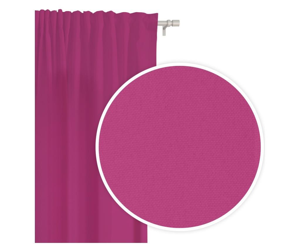Draperie Viva Tape Dark Pink 140x250 cm