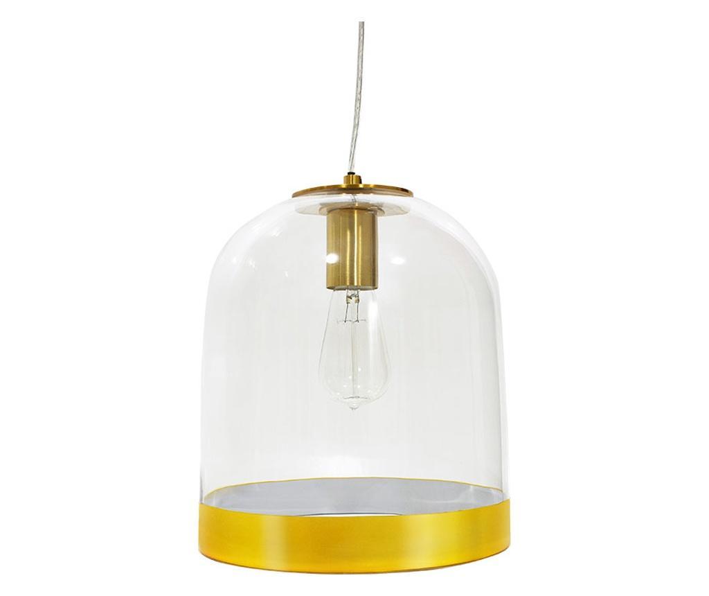 Lustra Arline Yellow - PAKOWORLD, Alb,Galben & Auriu