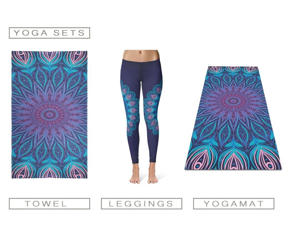 Set 3 accesorii pentru yoga M - OYO, Multicolor imagine