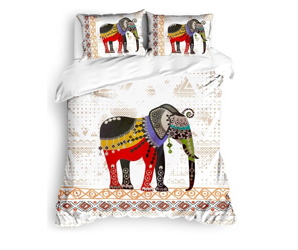 Lenjerie de pat Ranforce King Cagu - The Club Cotton, Multicolor imagine