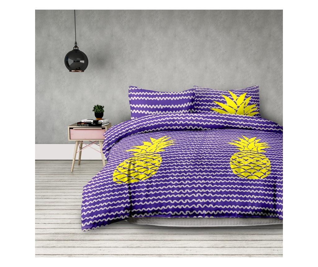 Set de pat Double Pineapple imagine