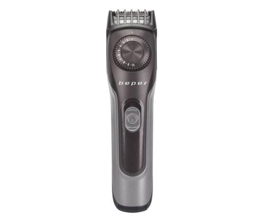 Aparat de tuns barba reincarcabil - Beper, Gri & Argintiu poza