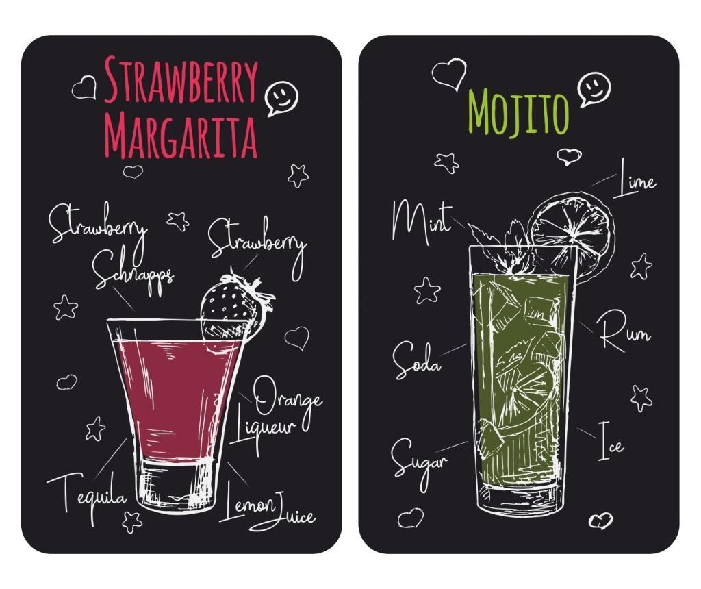 Set 2 planse protectoare pentru plita Universal Margarita imagine