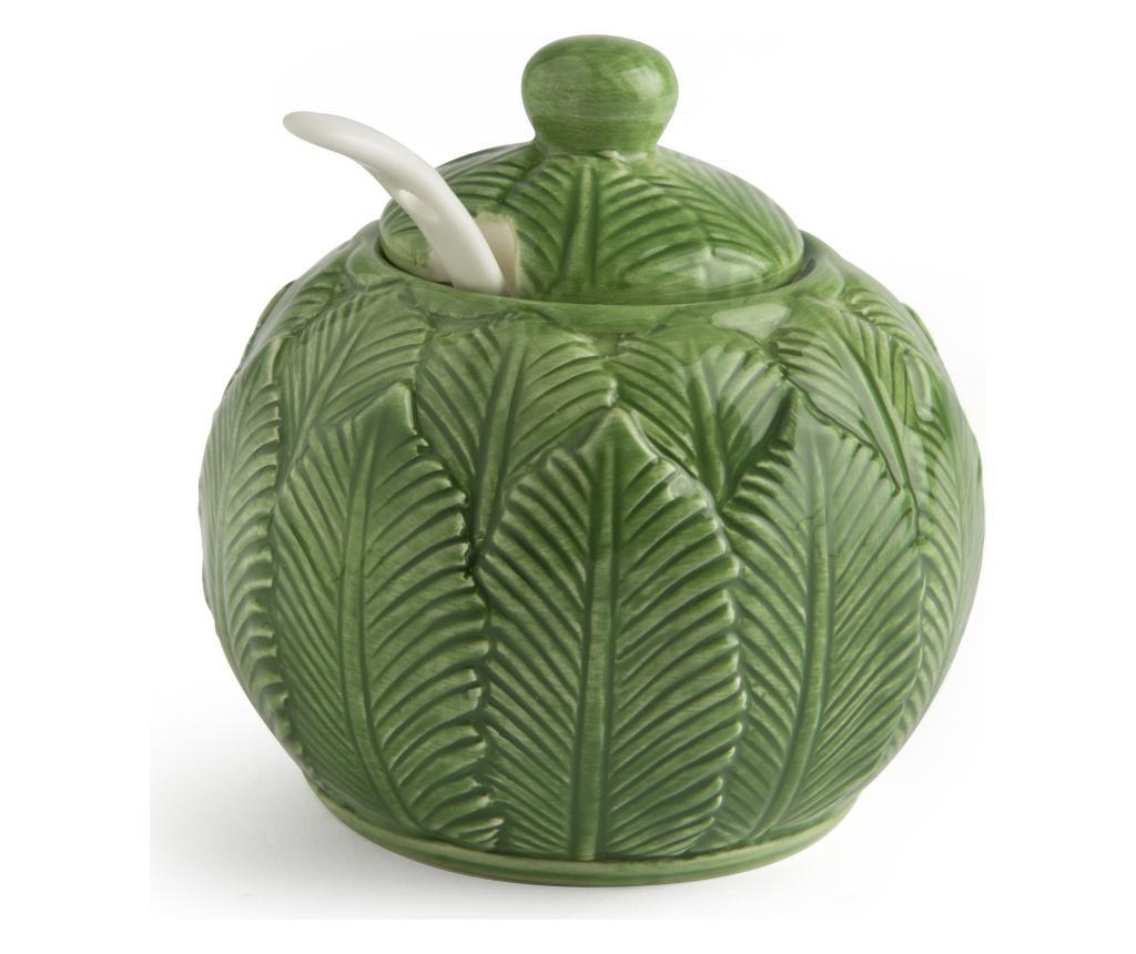 Zaharnita cu capac Foliage 200 ml - Excelsa, Maro