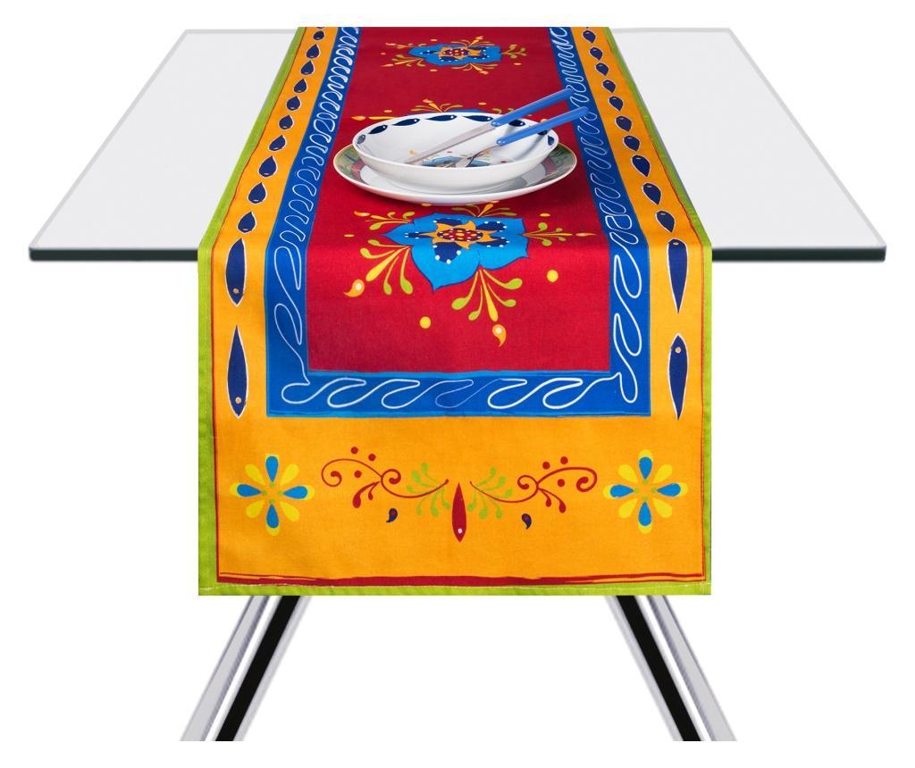 Traversa de masa Tex-Mex 45x140 cm - Excelsa, Multicolor poza