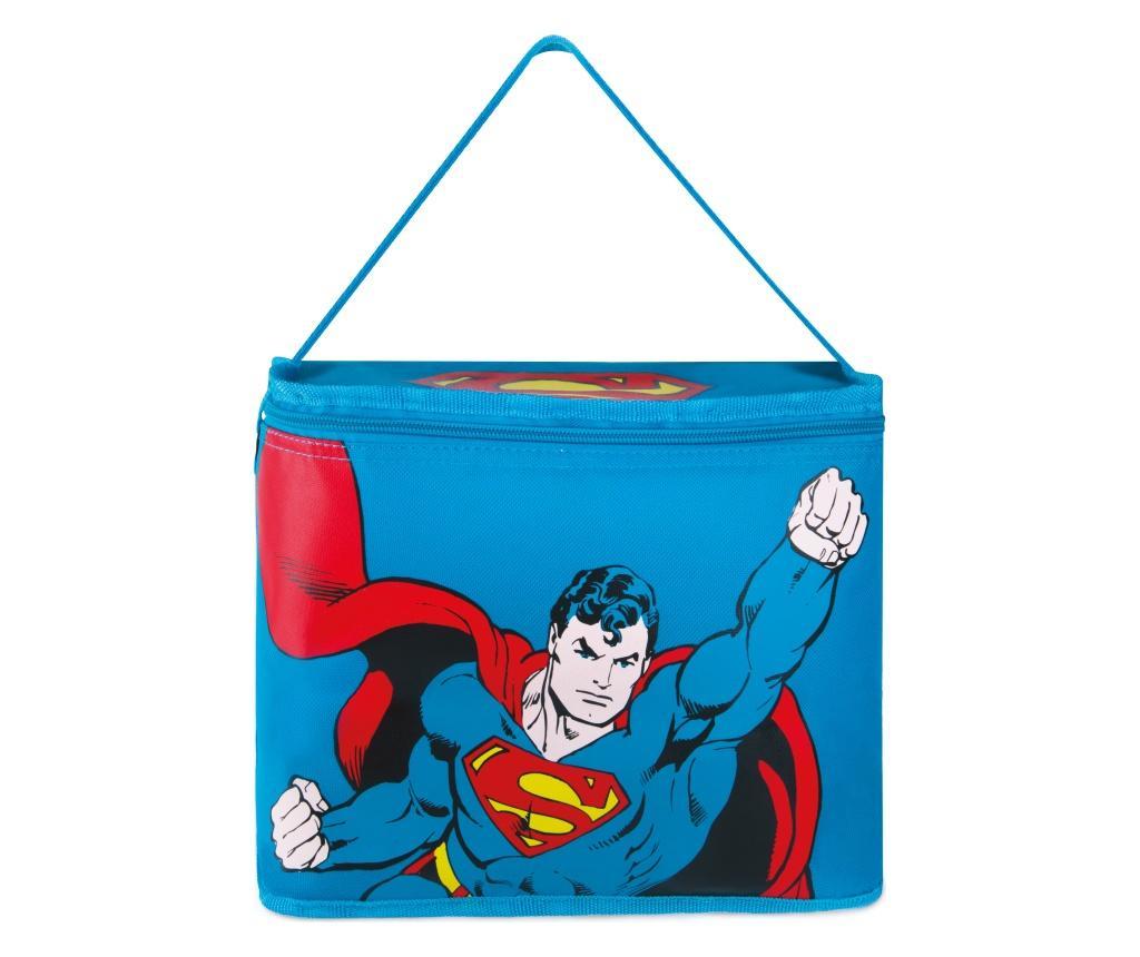 Geanta frigorifica Superman 10L - Excelsa, Albastru imagine
