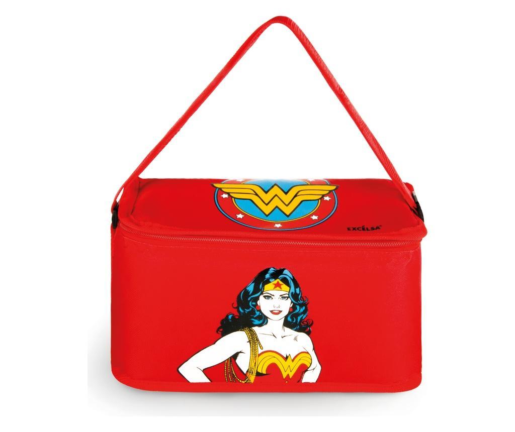 Geanta pentru pranz Wonder Woman 7L - Excelsa, Rosu imagine
