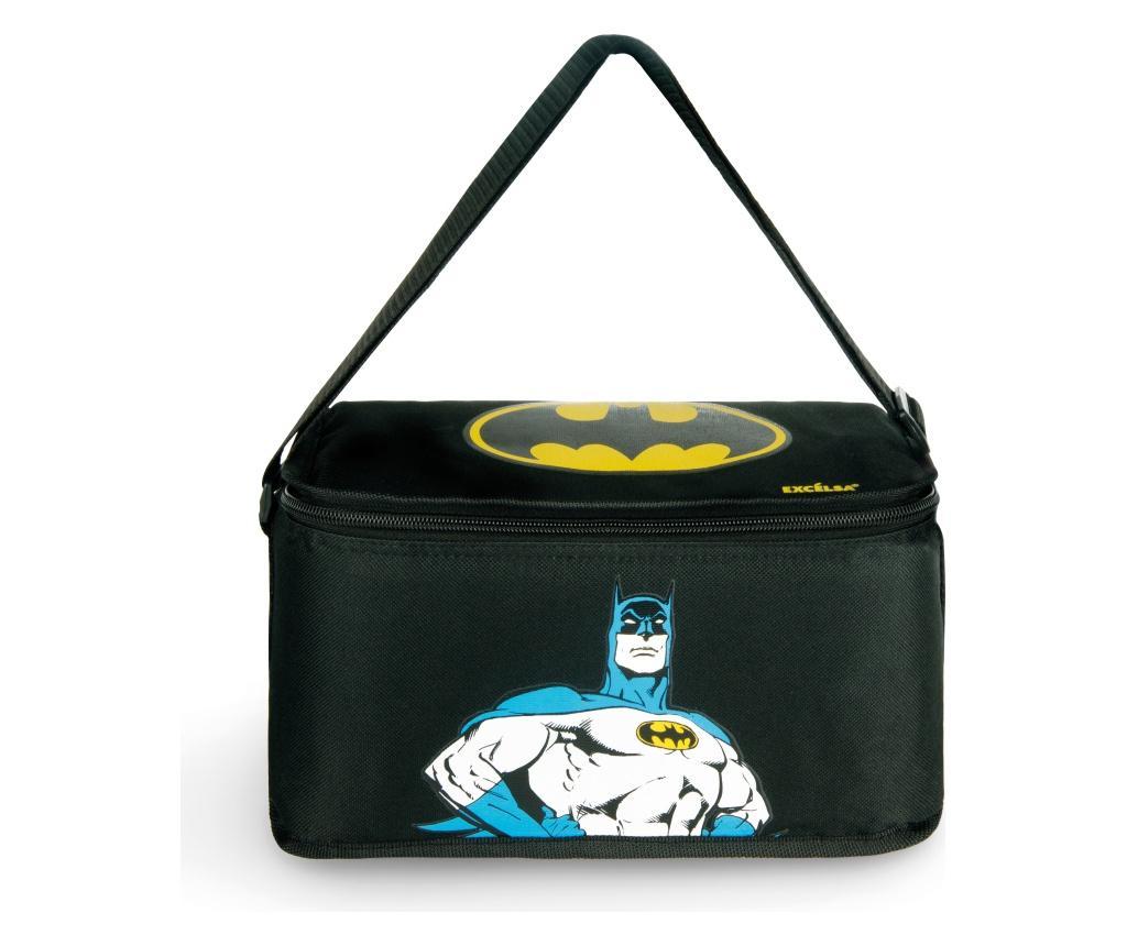 Geanta pentru pranz Batman 7L - Excelsa, Negru imagine
