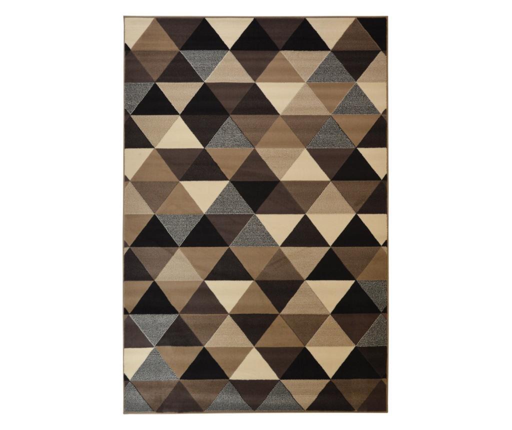 Covor Moderno Rombi Naturale 200x290 cm - Floorita, Crem