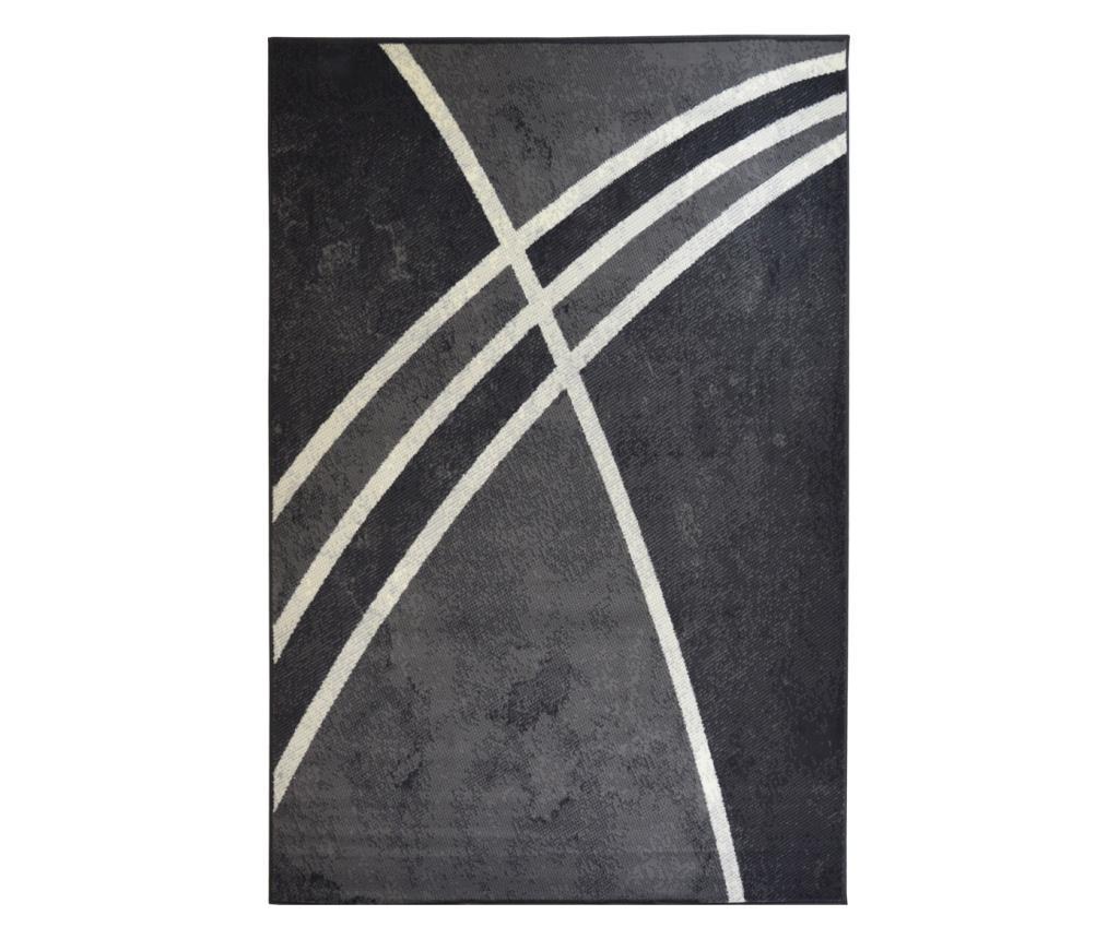 Covor Moderno Linea Grigio 200x290 cm - Floorita, Gri & Argintiu poza