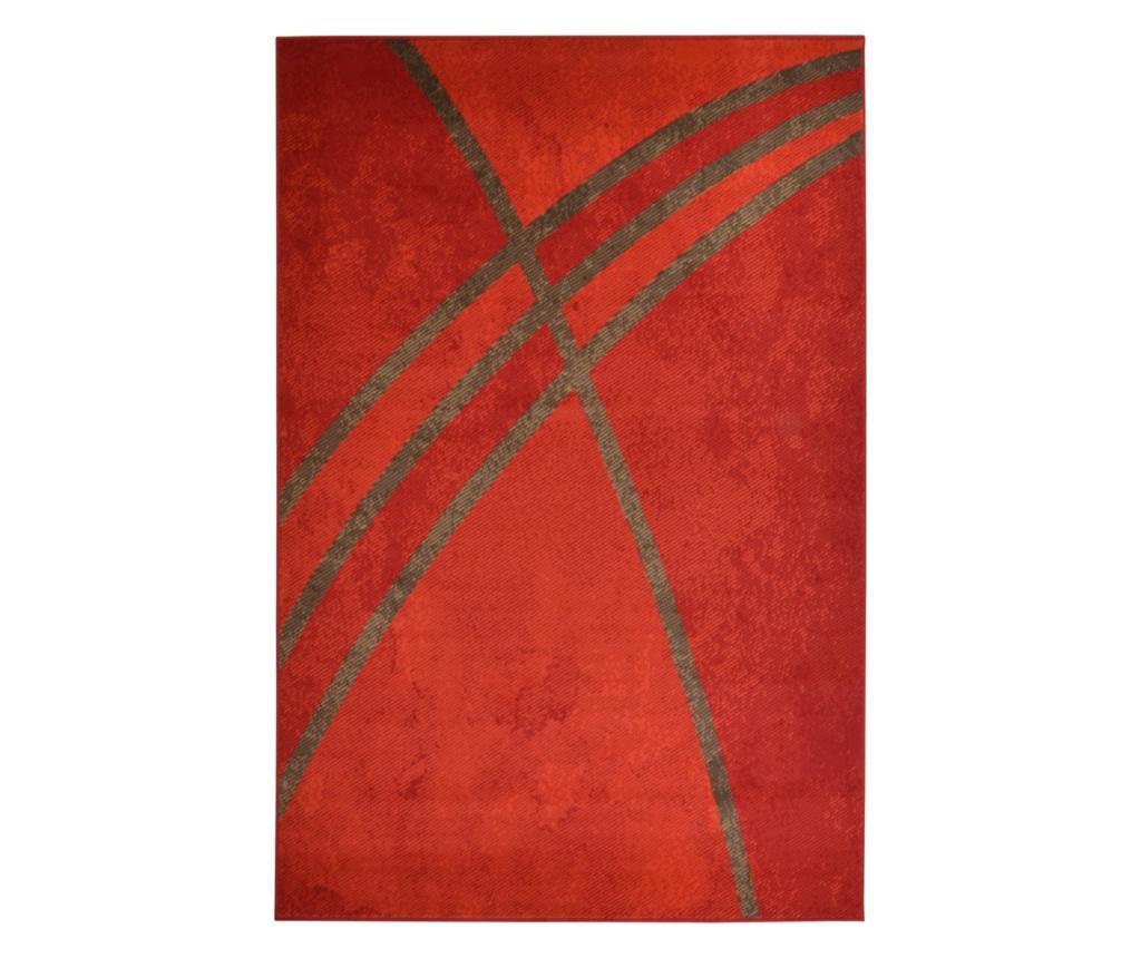 Covor Moderno Linea Rosso 200x290 cm