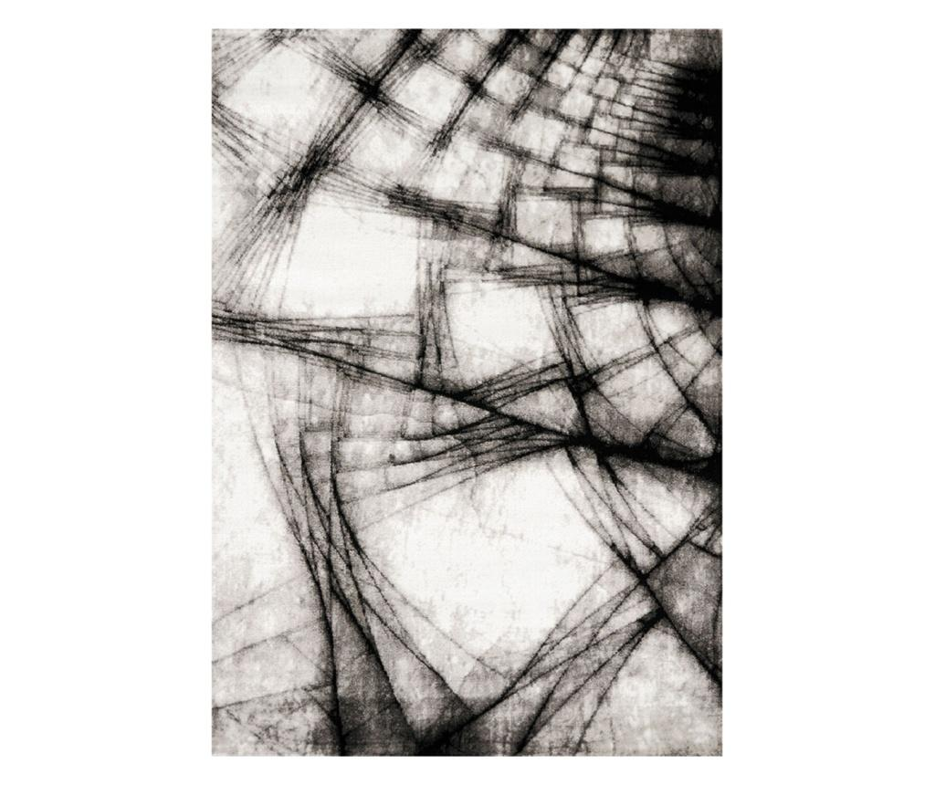 Covor Manhattan Broadway Grey 160x230 cm - Floorita, Gri & Argintiu imagine