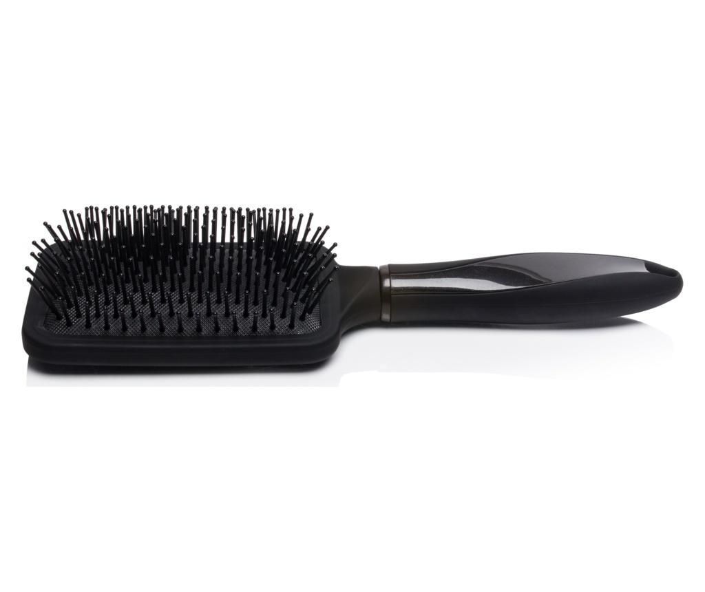 Perie antistatica Brillance NY Anti-Frizz Styling Perfection Black