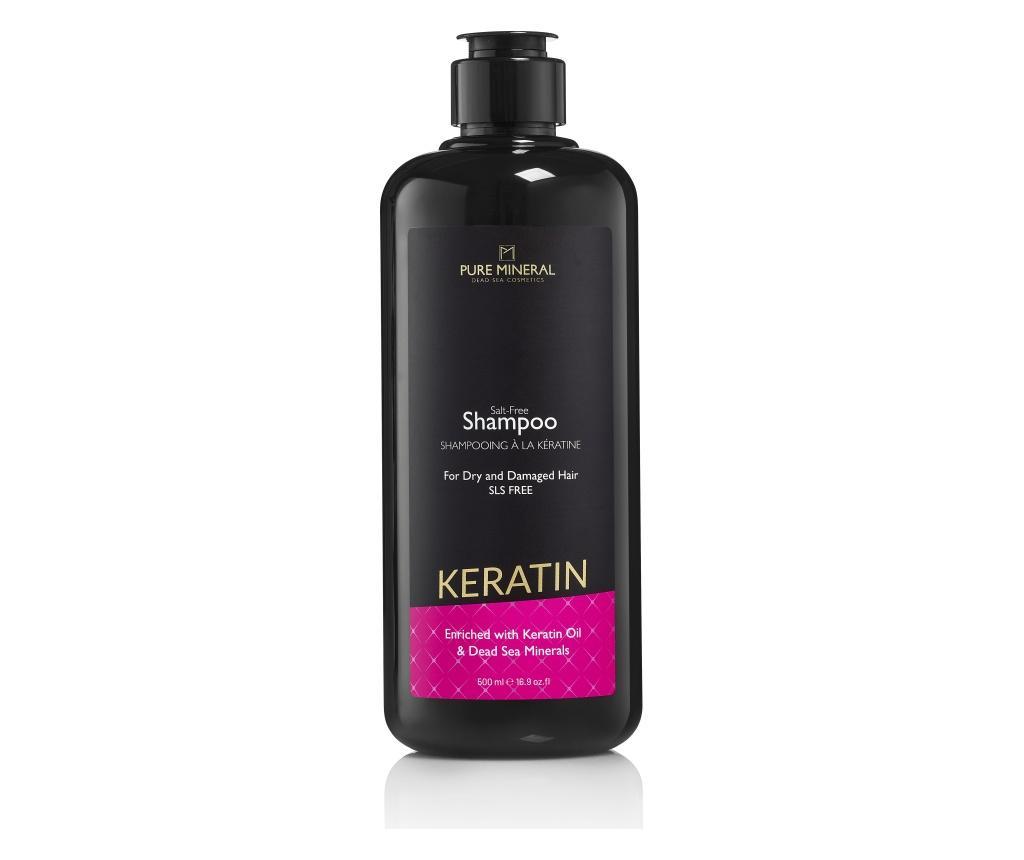 Sampon de par Pure Mineral Keratin 500 ml - Pure mineral poza