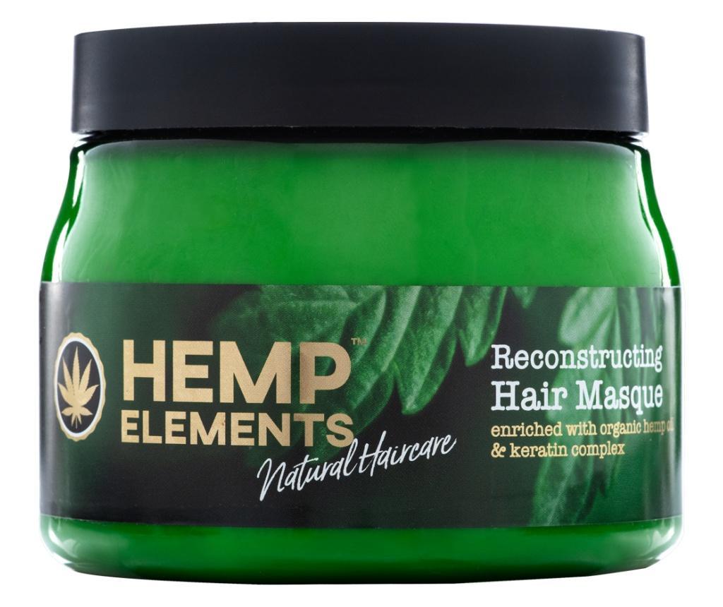 Masca de par Hemp Elements 500 ml imagine