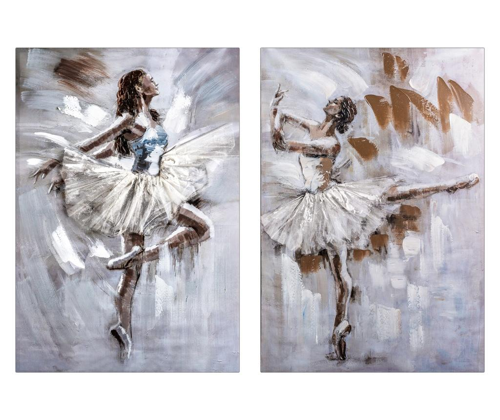 Set 2 tablouri Ballet 70x100 cm