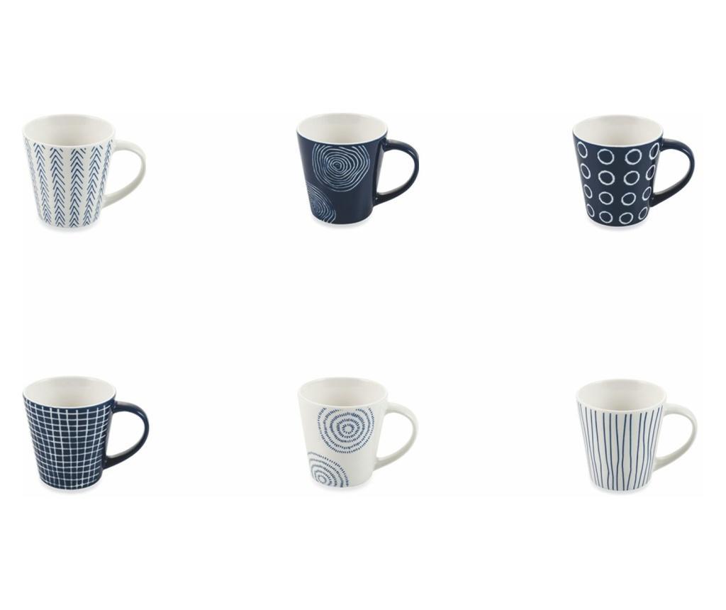 Set 6 cesti pentru cafea 90 ml - Villa D'Este Home Tivoli imagine