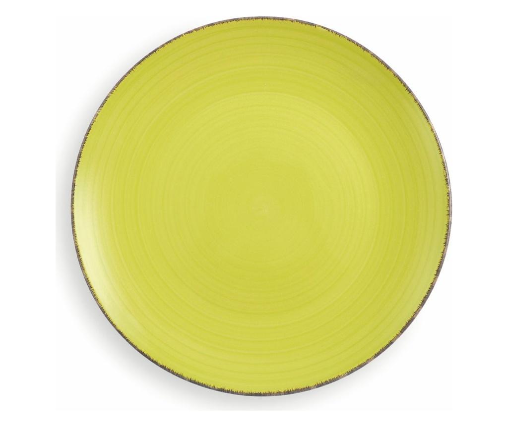 Set 6 farfurii intinse New Baita Lime
