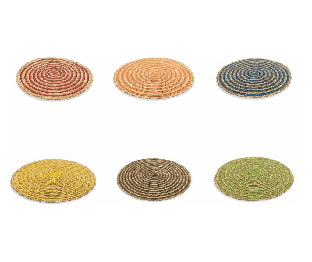 Set 6 suporturi pentru farfurii 37 cm imagine