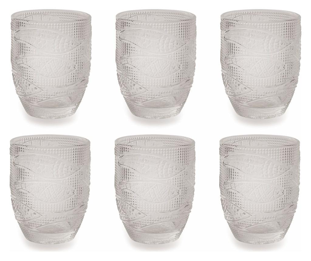 Set 6 pahare pentru apa 240 ml - Villa D'Este poza